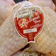 Cuisse de poulet fermier Label rouge