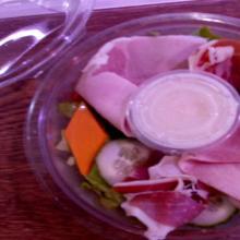 Formule salade à 9.80€