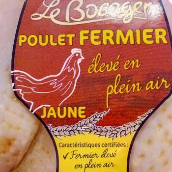 Poulet fermier Label rouge