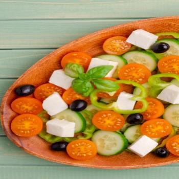 Assiette fraicheur végétarienne